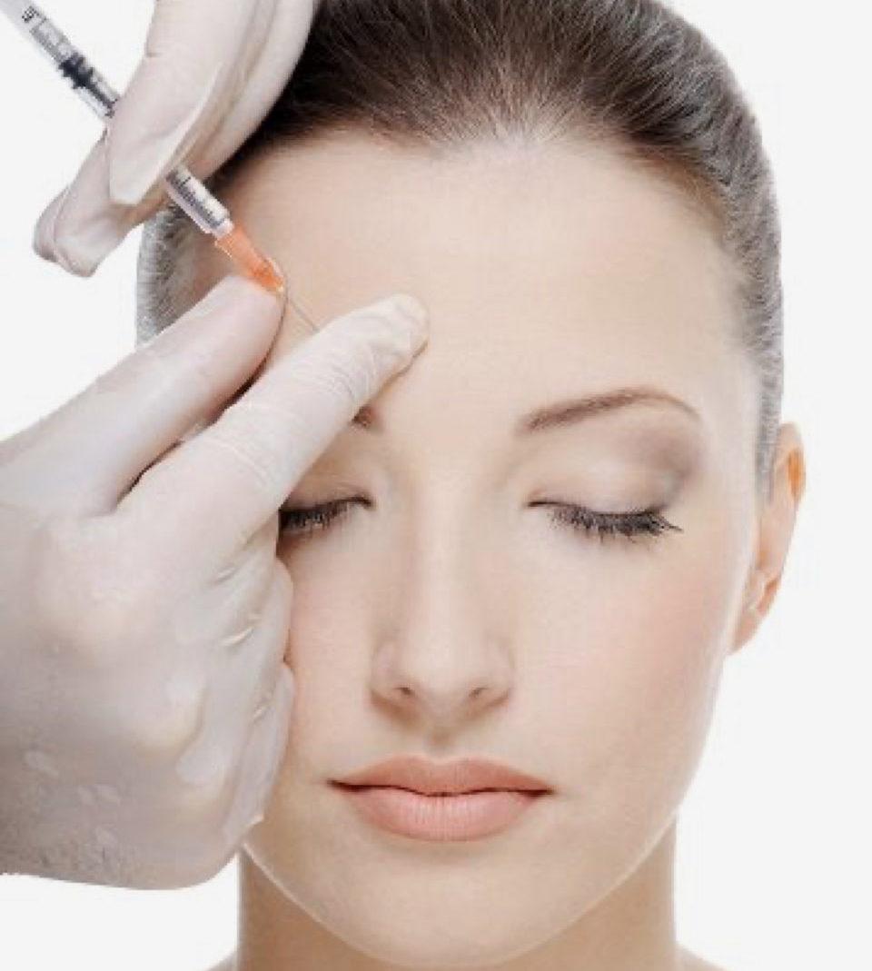 Stirnfalten Botox
