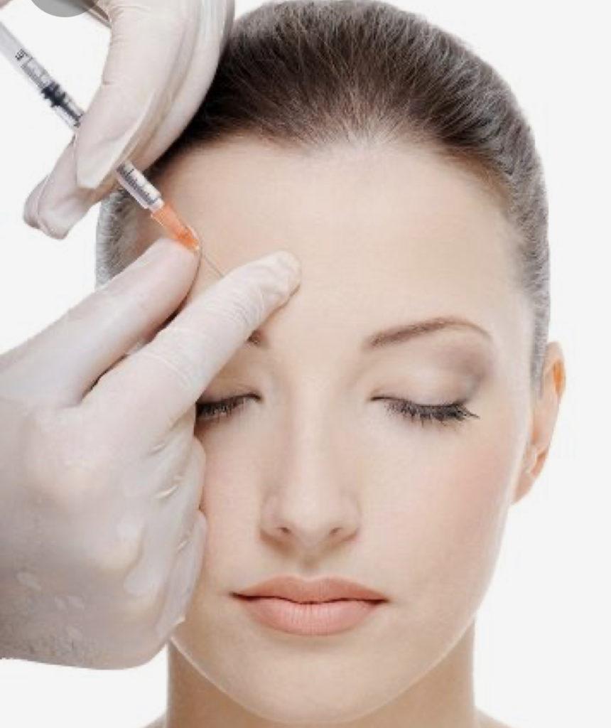 Faltenunterspritzung Botox