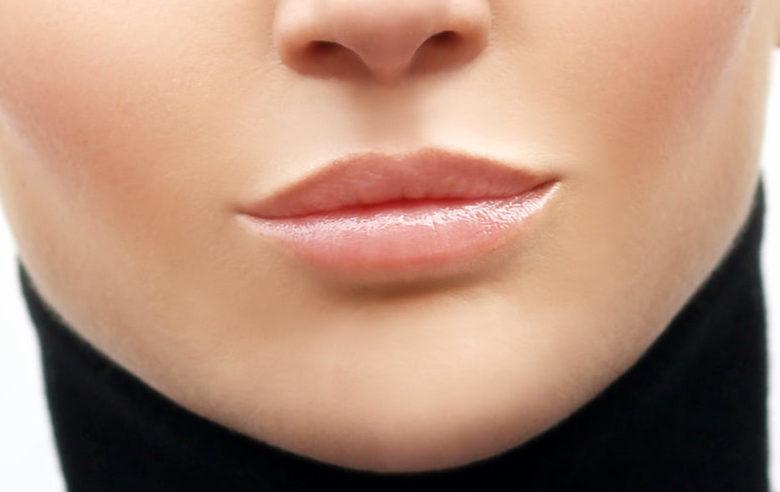 Lippen aufspritzen vorher